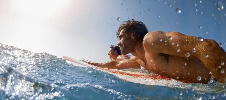 Surfen voor beginners - golfsurfen
