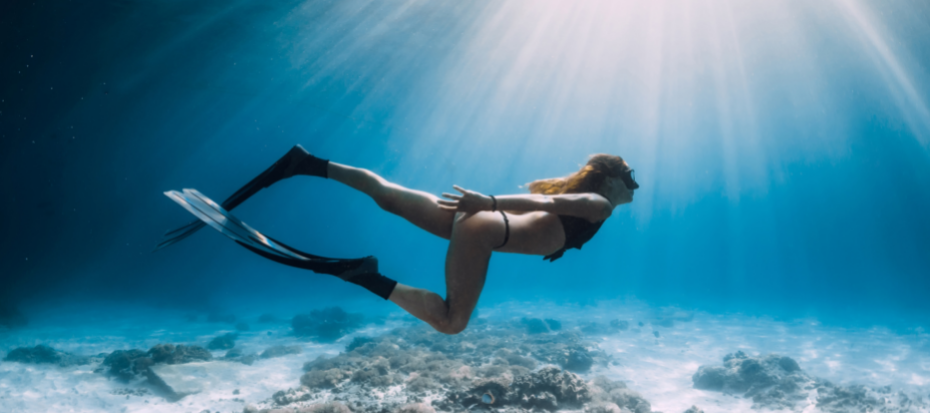 freediven ~flippers kopen ~zwemvliezen kopen - zwemvinnen kopen