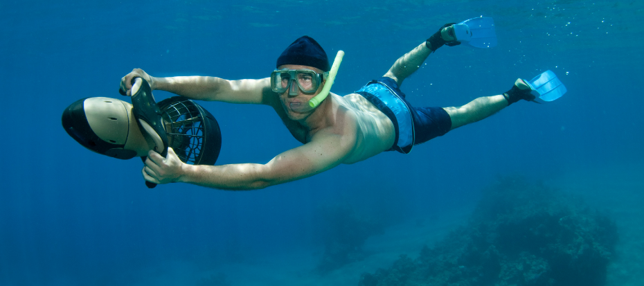 Seascooter onderwaterscooter scubajet